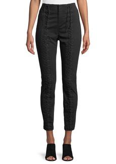 A.L.C. Kerrigan Lace-Up Skinny Pants