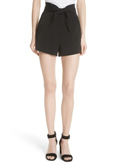 A.L.C. Kerry Tie High Waist Shorts