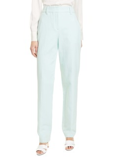 A.L.C. Lennox High Waist Cotton & Linen Pants