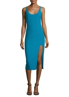 Cinq a Sept Breena Slit Midi Dress