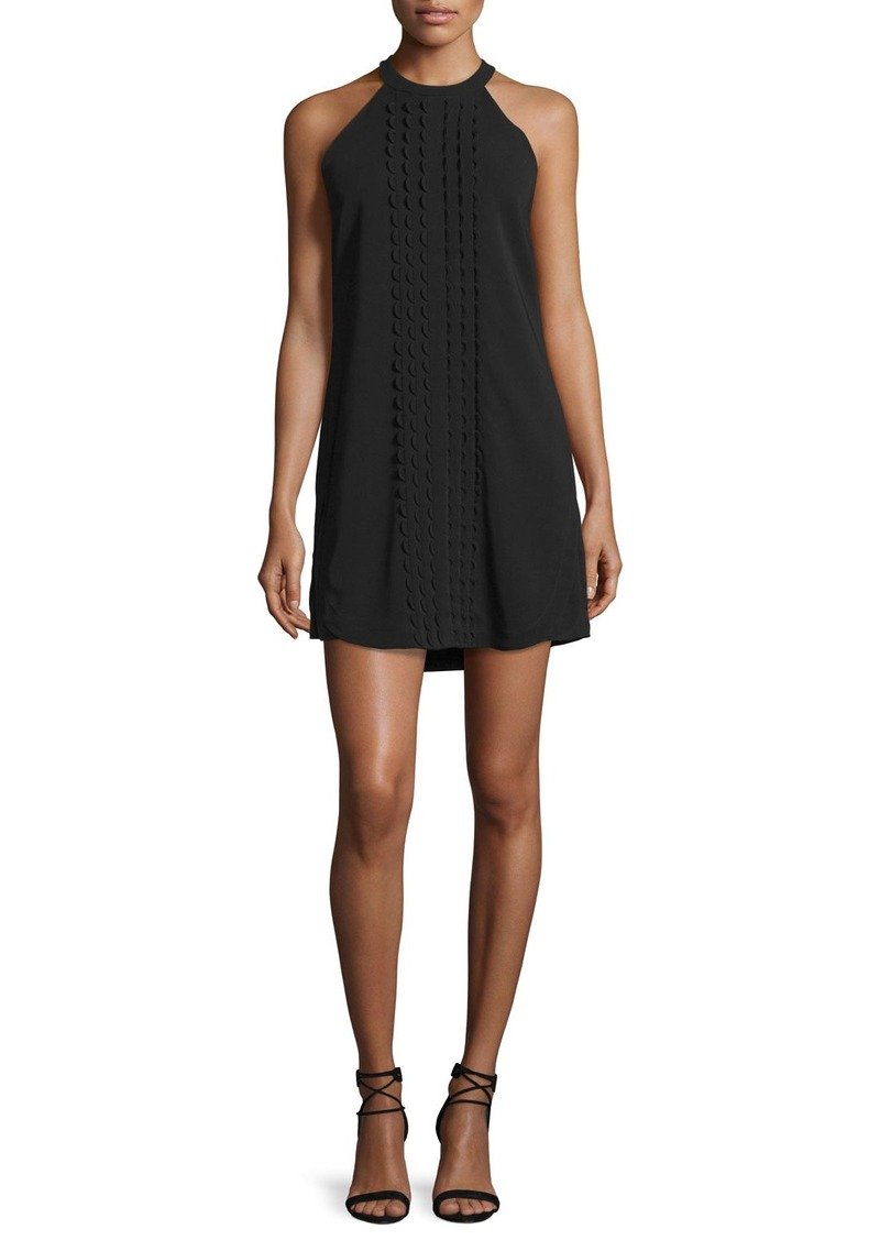 A.L.C. Liv Sleeveless Scalloped Mini Dress