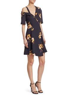 A.L.C. Lucia Floral Silk Dress