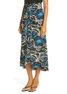 A.L.C. Mabelle Silk Midi Skirt