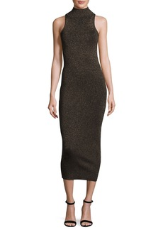 A.L.C. Marc Metallic Racerback Midi Dress