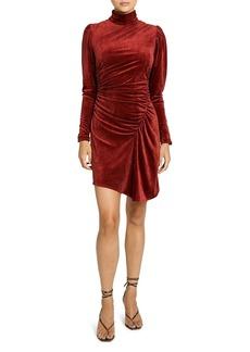 A.L.C. Marcel Ruched Asymmetric Dress