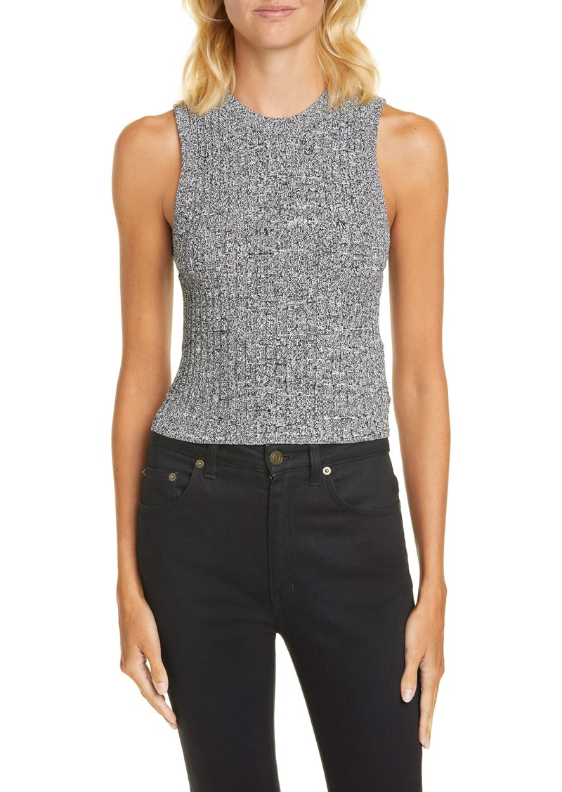 A.L.C. Marie Ribbed Sleeveless Sweater