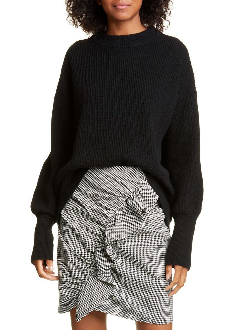 A.L.C. Memphis Oversize Rib Merino Wool Blend Sweater
