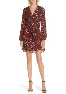 A.L.C. Michaela Silk Wrap Dress