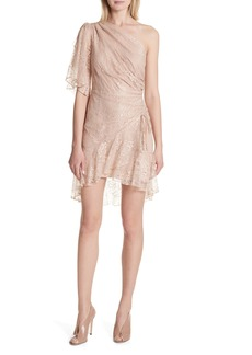 A.L.C. Misha One-Shoulder Lace Dress