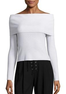 A.L.C. Monica Off-The-Shoulder Sweater