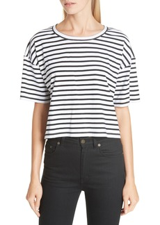 A.L.C. Monroe Stripe Cotton Tee