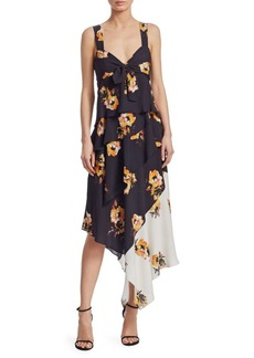 A.L.C. Natalia Sleeveless Floral-Print Dress