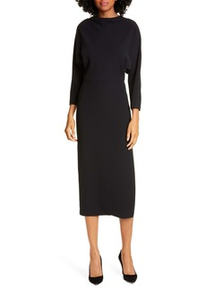 A.L.C. Naveen Dolman Long Sleeve Midi Dress