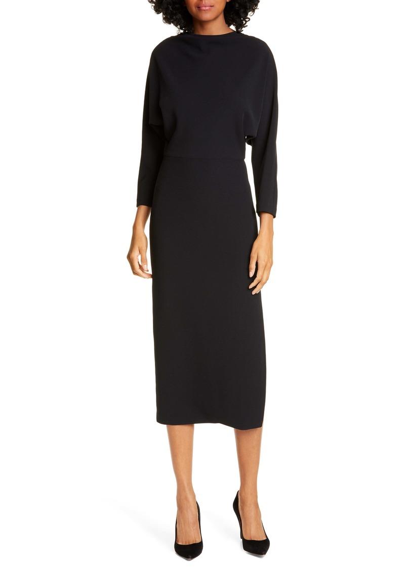 A.L.C. Naveen Dolman Long Sleeve Midi Dress