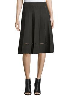 A.L.C. Nicole Pleated A-Line Skirt