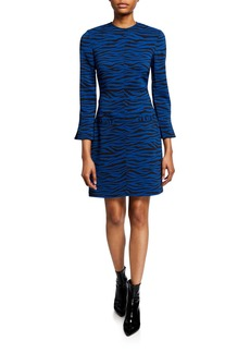 A.L.C. Noelle Striped Crewneck Dress