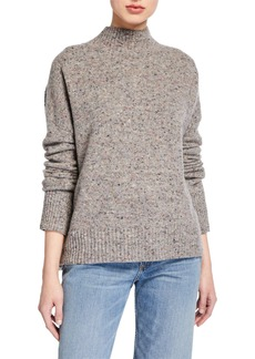 A.L.C. Parsons Mock-Neck Speckled Sweater
