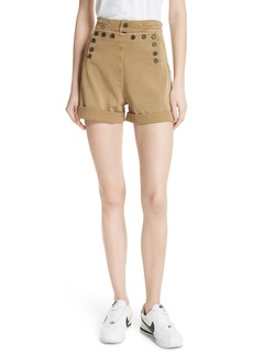 A.L.C. Pierce High Waist Sailor Shorts