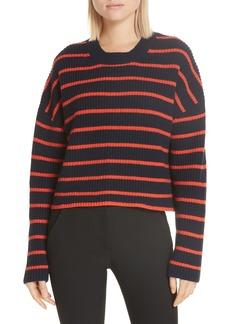 A.L.C. Portland Stripe Merino Wool Sweater