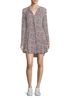 A.L.C. Randi Floral-Print Silk Dress