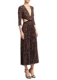 A.L.C. Reece Silk-Blend Dress