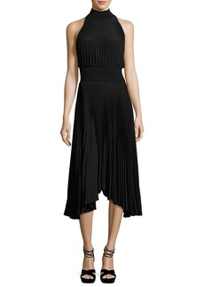 A.L.C. Renzo Pleated Jersey Midi Dress