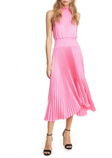 A.L.C. Renzo Pleated Sleeveless Midi Dress