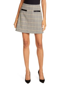 A.L.C. Reynolds Plaid Miniskirt