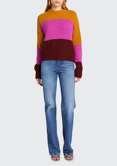 A.L.C. Roberston Colorblock Knit Sweater