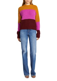A.L.C. Robertson Color Blocked Sweater