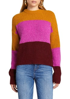 A.L.C. Robertson Colorblock Crewneck Sweater