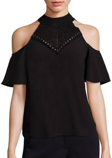 A.L.C. Rora Cold Shoulder Top