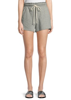 A.L.C. Russell Drawstring Cotton Shorts