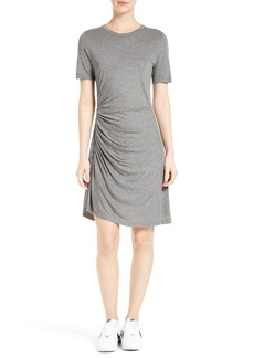 A.L.C. Sally Ruched T-Shirt Dress