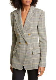 A.L.C. Sedgwick II Plaid Double Breasted Blazer