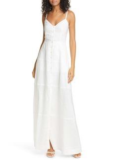 A.L.C. Selita Linen Maxi Dress