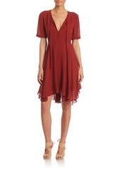 A.L.C. Sosta Ruffled Silk Dress