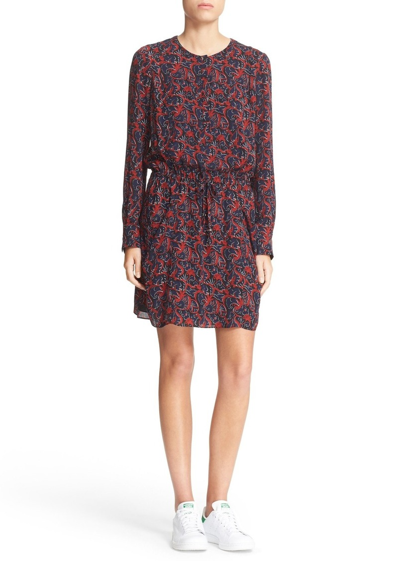 A.L.C. 'Sullivan' Print Silk Dress