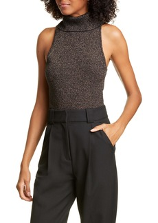 A.L.C. Susanna Metallic Wool Blend Sweater Tank