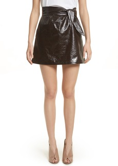 A.L.C. Tate Leather Skirt