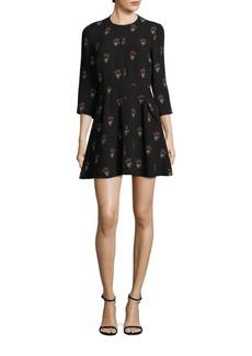 A.L.C. Terry Silk Dress