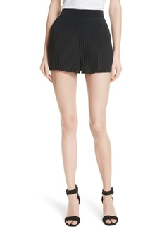 A.L.C. Toby Pleated Shorts
