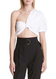 A.L.C. Tomlin One-Shoulder Crop Top