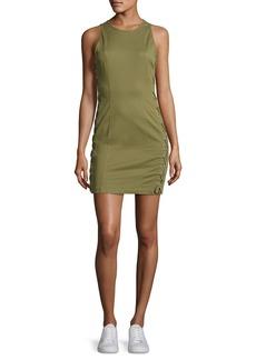 A.L.C. Valera Sleeveless Laced Twill Mini Dress