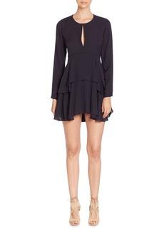 A.L.C. Vicky Silk Tiered Dress