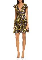 A.L.C. Viera Print Silk Dress