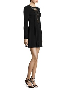A.L.C. Wares Lace-Up Dress