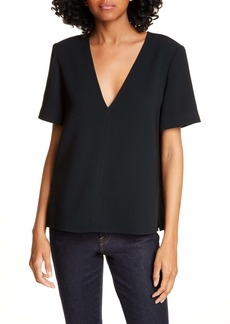 A.L.C. Warren V-Neck Top
