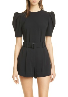 A.L.C. West Puff Sleeve Top