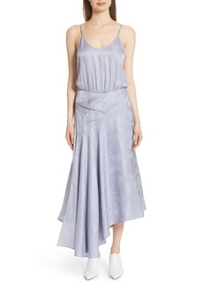 A.L.C. Willa Asymmetrical Silk Jacquard Dress
